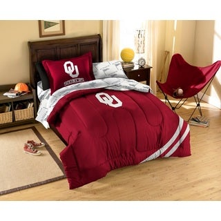 Oklahoma University Sooners 7-piece Bed in a Bag Set