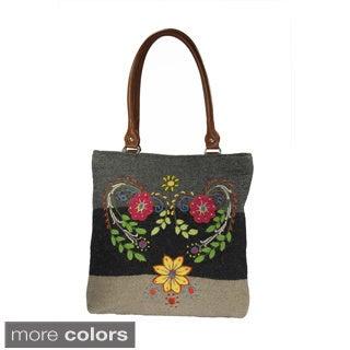 Hand-embroidered Alpaca Tote Bag (Peru)