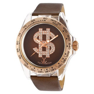 ToyWatch Women's D07BR Brown Satin Leather Watch