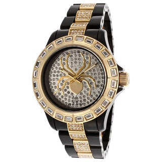 ToyWatch Women's K22BK Spider Two-tone Stainless Steel Watch