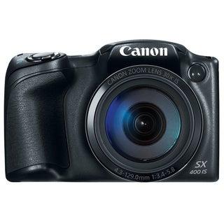 Canon SX400 IS 16MP Black Digital Camera