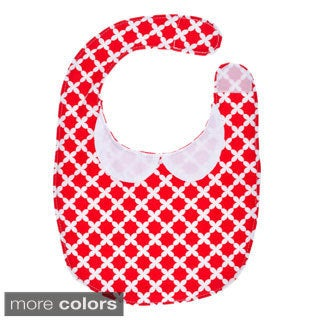Baby Flannel Adjustable Bib