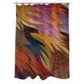 Thumbprintz Autumn Flight Shower Curtain
