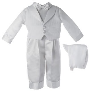 Boys Christening/ Baptism /Special Occasion Satin Suit Set