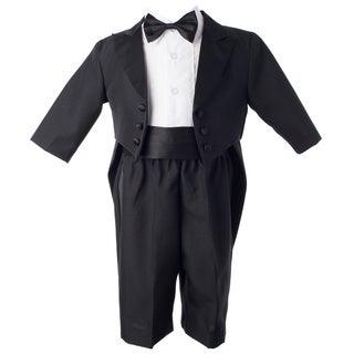 Boys Black Special Occason/Christening Tuxedo