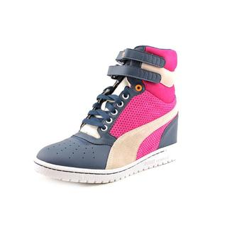 Puma Women's 'Sky Wedge' Leather Athletic Shoe