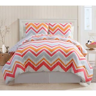 Lake Tahoe 3-piece Chevron Cotton Comforter Set
