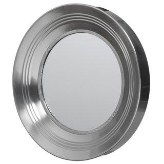 Round Mirror with Knurling (Vali)