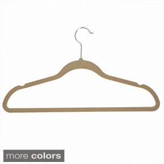 Velvet Anti-Slip Hangers (Pack of 10)
