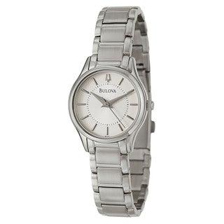Bulova Women's 96L183 Stainless Steel Japanese Quartz Watch