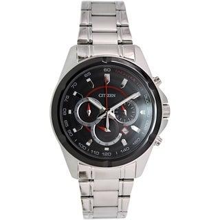 Citizen Men's AN8041-51E Stainless Steel Quartz Watch