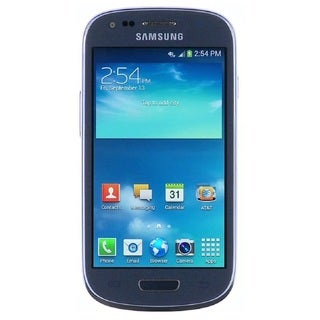 Samsung Galaxy Blue S3 Mini G730a 8GB 4G LTE AT&T Unlocked GSM Cell Phone