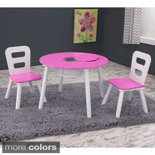 KidKraft 3-piece Round Table and Chair Set