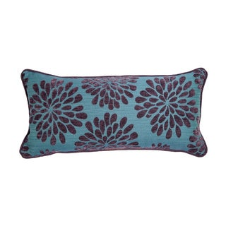 12 x 22-inch Blue Moon Palm Decorative Throw Pillow