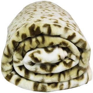 Clara Clark Leopard Print Rachel Blanket