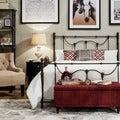 INSPIRE Q Bellwood Dark Bronze Victorian Iron Metal Bed