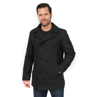 EXcelled Men's Double Breasted Peacoat