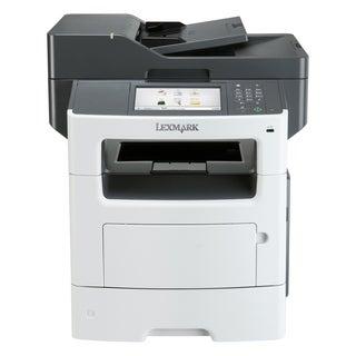 Lexmark MX611DE Laser Multifunction Printer - Monochrome - Plain Pape