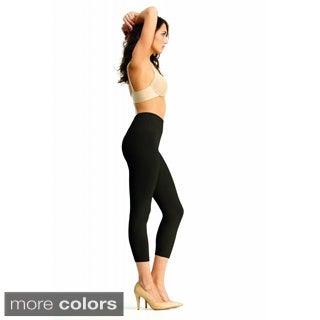 Memoi Women's 'SlimMe' High Waist Leggings