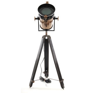 Aluminum/ Steel and Wood Tripod Spot Light