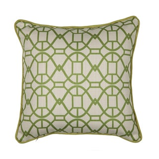 16 x 16-inch Chole Chartreuse Decorative Throw Pillow