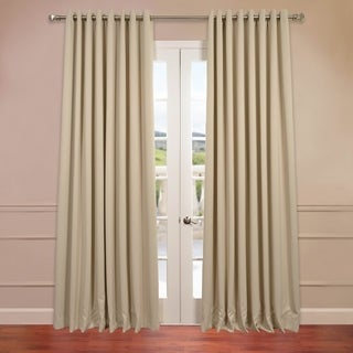 Extra Wide Thermal Blackout Grommet Top 120-inch Curtain Panel
