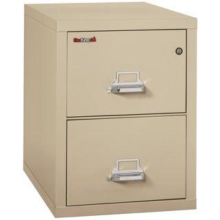 FireKing 2-Drawer Legal-size Fireproof File Cabinet