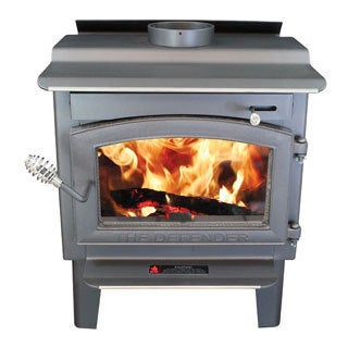 Defender Stove with Blower and Ash Drawer