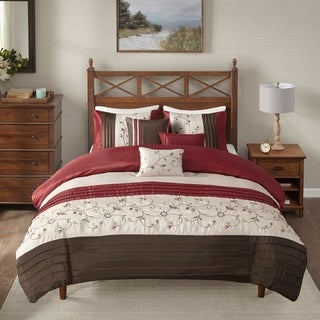 Madison Park Belle 6-Piece Duvet Cover Set