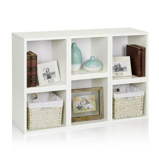 Arlington Modular Eco-friendly zBoard Bookcase and Stackable Storage Shelves