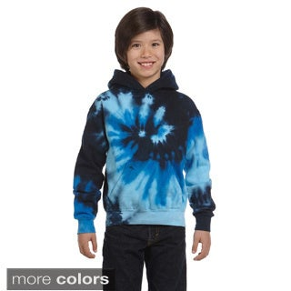 Youth Tie-dyed Pullover Hoodie