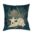 Thumbprintz Sea Shells Vignette Floor Pillow