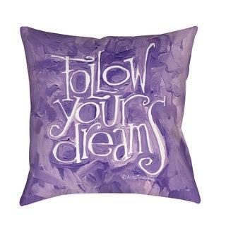 Thumbprintz Follow Your Dreams Floor Pillow