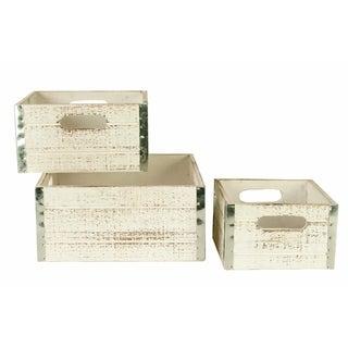 Wood Crates (Set of 3)