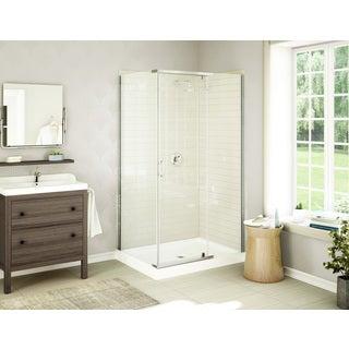 Acro Frameless Tempered Glass Acrylic Shower Stall