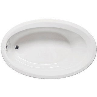 Americh CA6040B-WH Catalina Builder Oval Whirlpool Bathtub with 6 Jets