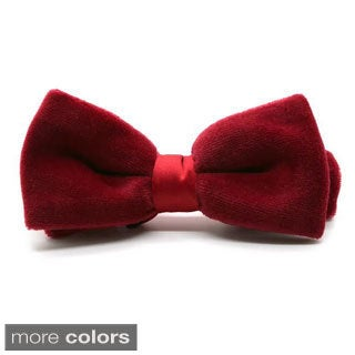 Ferrecci Velvet Bow Tie