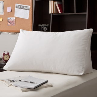 White Goose Down and Feather Reading Wedge Pillow