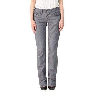 Stitch's Women's Grey Straight Leg Jeans