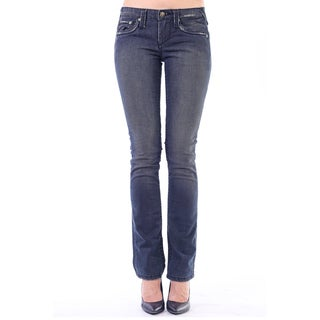 Stitch's Women's Classic Blue Straight Leg Denim Jeans