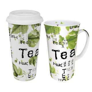 Konitz Tea to Tea to Go Mega Mug Tea Collage (Set of 2)