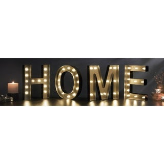 HOME Decorative LED Marquee Sign