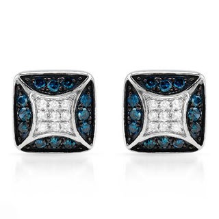 Vida Earrings with Diamonds 14K White Gold