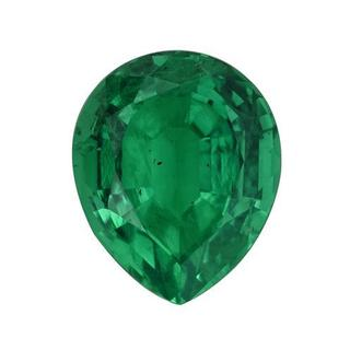Lab Grown Emerald 3.4ct TW Pear-cut 11 x 9mm