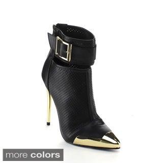 Wildrose Women's 'Wilson-29' Pointed Heel Stiletto Boots