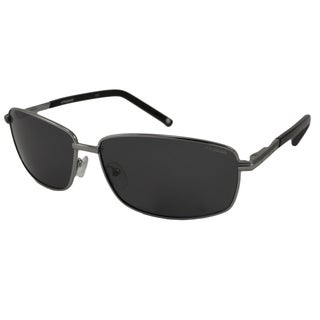 Polaroid Men's P9302 Rectangular Sunglasses