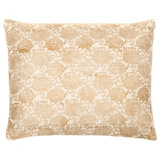 Trendsage Rose Cream Decorative Accent Pillow