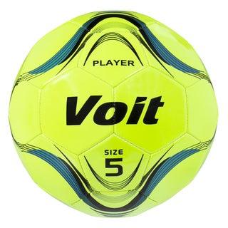 Voit Neon Yellow Size 5 Deflated Soccer Ball