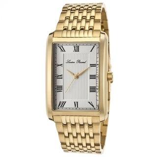 Lucien Piccard Men's LP-30010-YG-22S 'Avignon' Silvertone Dial Watch