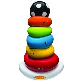 Infantino Funny Faces Ring Stacker